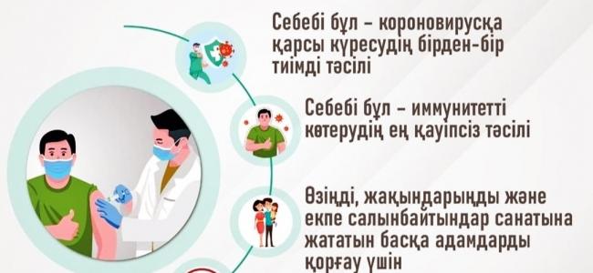 COVID-19 коронавирустық инфекциясына қарсы вакцинациялау міндеттілігінің құқықтық негізі туралы